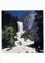VERNAL FALL WHITEWATER, YOSEMITE NATIONAL PARK, CA, 1995