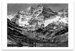MAROON BELLS, NEAR ASPEN, CO, 1951