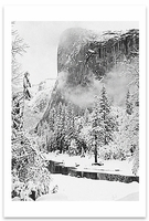 EL CAPITAN, WINTER, YOSEMITE NATIONAL PARK, CA, c 1948