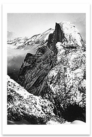 HALF DOME, WINTER, FROM GLACIER POINT, YOSEMITE NATIONAL PARK, CA, c 1930