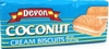 Devon Coconut Cream Biscuits