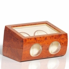 Steinhausen Deluxe Dual Watch Winder Showcase (Burlwood) OUT OF STOCK
