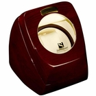 Single Watch Winder w/ Timer � Cherrywood