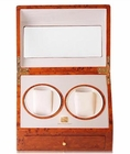 Steinhausen Dual Automatic Watch Winder Burl with Lifetime Warranty  OUT OF STOCK