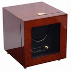Wolf Savoy Single Watch Winder with Cover � Burl --