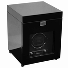 Wolf Savoy Single Watch Winder with Storage � Black  --