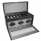 Wolf Viceroy Triple Watch Winder with Storage and Travel Case