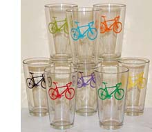 Bicycle Dishes and Glasses