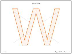 Letter - W