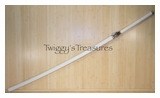 Bleach Captain Kenpachi Sword Full Tang & Actual Size