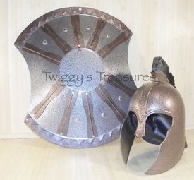 Trojan Shield and Helmet of Achilles