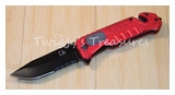 Falcon Fire Fighter Spring Assist Knife
