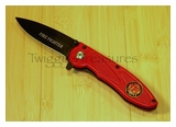 Fire Dept. Spring Assist Knife-KS 456FF-PS