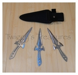 Heavy Throwing Knives (3 pc. set)-RC-279-6