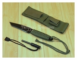 Knife with Fire Starter HK-106T-MC