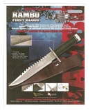 Rambo Limited Edition Knife First Blood MC-RB1A25