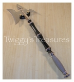 Battle Axe<br>Wire Wrapped Handle<br> HK081