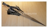Skull Fantasy Sword w/plaque-SB 306050