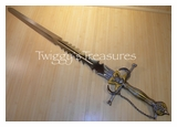 Skull Sword with Chain<br> RPS600BKGD