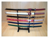 Set of 6 Colorful Katanas-SW-69/6