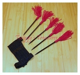 Red Tassel Spikes U-9111-5-WJ