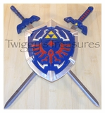 Legend of Zelda <br>Miniature Sword and Shield Set <br>HK2009