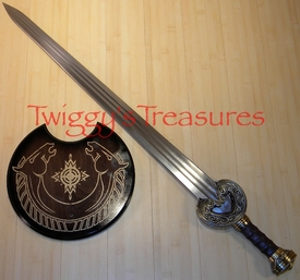 Lord of The Rings Herrugrim Sword of King Theoden