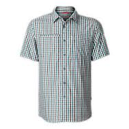 THE NORTH FACE MEN'S CURBAR SHIRT GOBLIN BLUE PLAID