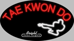 Tae Kwon Do LED Sign