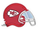 Kansas City Chiefs Neon Helmet
