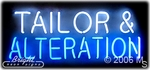 Tailor Alteration Neon Sign