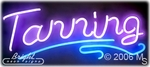 Tanning Here Neon Sign