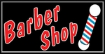Barber Shop Lightbox Sign