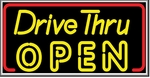 Drive Thru Open Lightbox Sign
