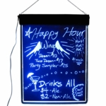 Neon Write-On Boards