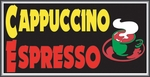 Cappuccino/Espresso Lightbox Sign