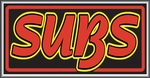 Subs Lightbox Sign