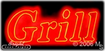 Grill Neon Sign