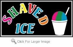 Shaved ice retail price