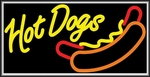 Hot Dogs Lightbox Sign