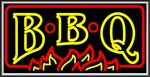 BBQ Lightbox Sign