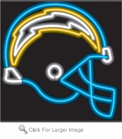 San Diego Chargers Neon Sign
