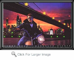 James Dean Brooklyn Nights LED Picture