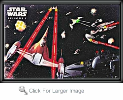 Star Wars Space Battle LED Picture