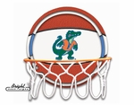 Florida Gators Neon Basketball Sign
