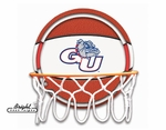 Gonzaga Bulldogs Neon Basketball Sign