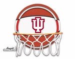 Indiana Hoosiers Neon Basketball Sign