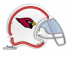 Arizona Cardinals Neon Helmet
