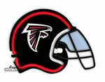 Atlanta Falcons Neon Helmet
