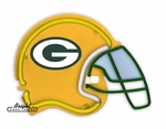 Green Bay Packers Neon Helmet